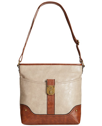 Style&co. Twistlock Crossbody