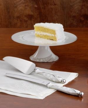 "Lenox ""Bellina"" China Cake Server"
