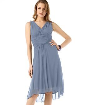 Studio M Sleeveless Mesh Dress