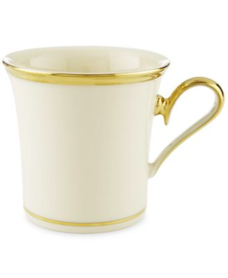 "Lenox ""Eternal"" Mug, 12 oz."