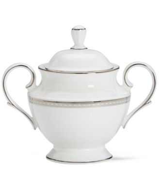 Lenox Murray Hill Covered Sugar Bowl