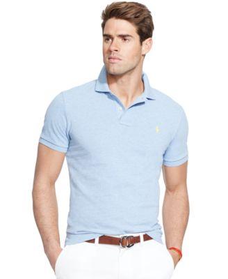 Polo Ralph Lauren Men\u0026#39;s Classic-Fit Mesh Polo Shirt
