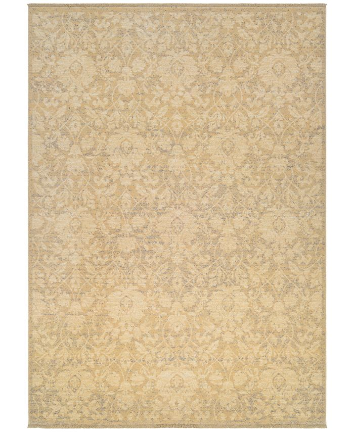 "Couristan - Grand Manor Lorelei Tan-Ivory-Mauve 4'7"" x 6'2"" Area Rug"