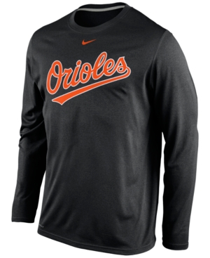 Nike Men 39 S Long Sleeve Baltimore Orioles Legend T Shirt
