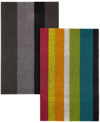 "Chilewich Bold Stripe Doormat, 18"" x 28"""