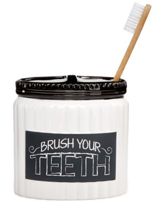 Chalk It Up Toothbrush Holder