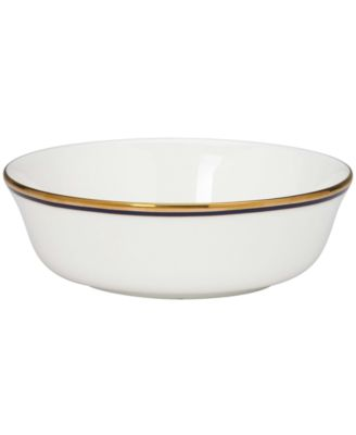kate spade new york Library Lane Navy All Purpose Bowl