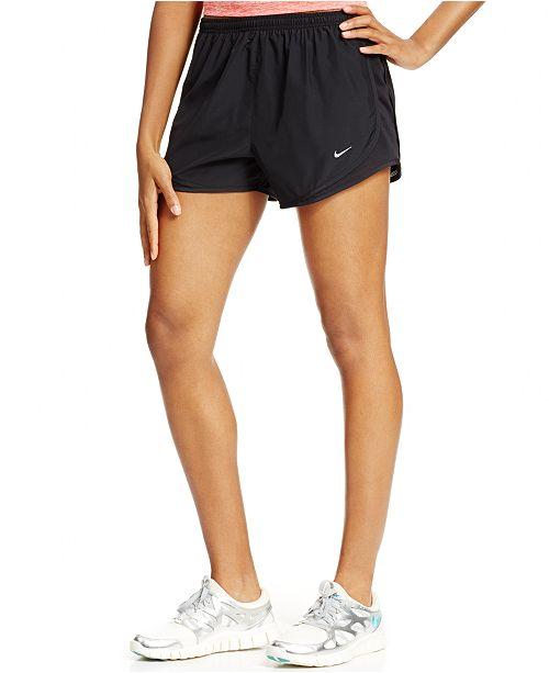 Excavación terrorismo Prueba  Nike Women's Dri-FIT Solid Tempo Running Shorts & Reviews - Shorts - Women  - Macy's