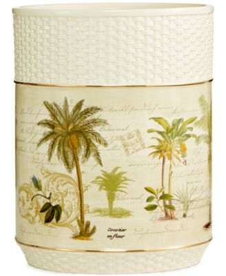 Colony Palm Wastebasket