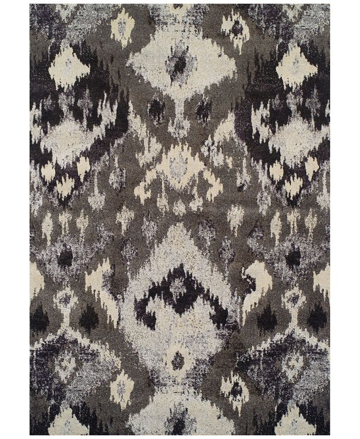 Macy's Fine Rug Gallery - Dalyn Neo Grey Inca Pewter Area Rug