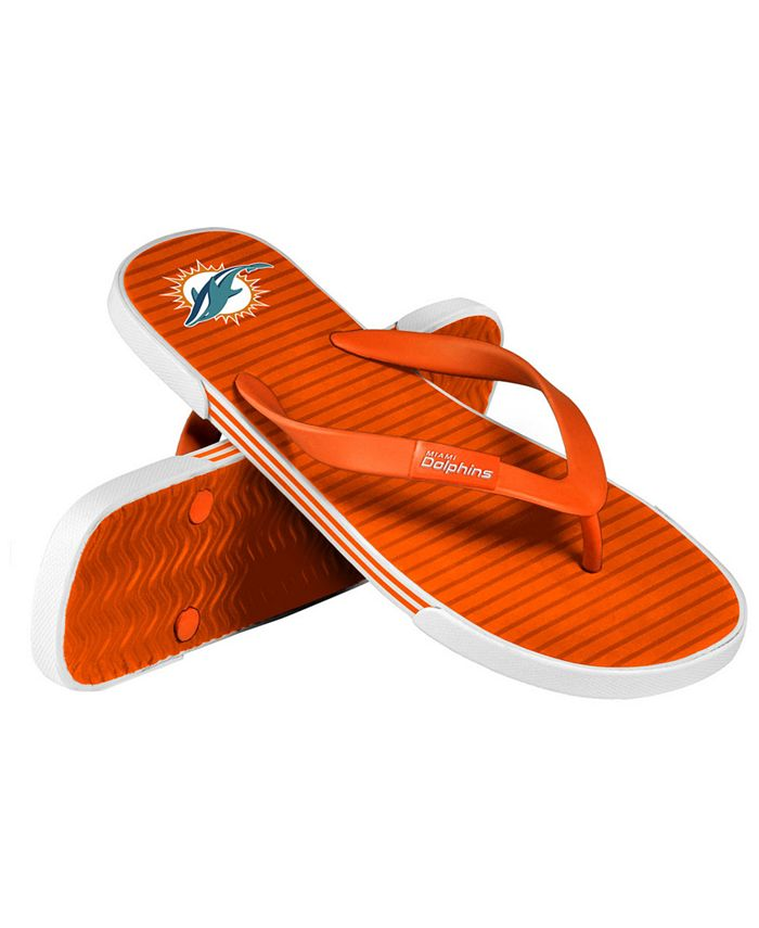 Forever Collectibles - Miami Dolphins Thong Sandals