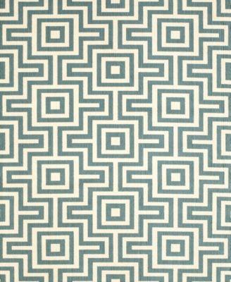 "Momeni Breezeway Grecian Blue 5'3"" x 7'6"" Area Rug"