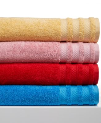 "CLOSEOUT! Charter Club Classic Pima Cotton 30"" x 56"" Bath Towel, Only at Macy's"