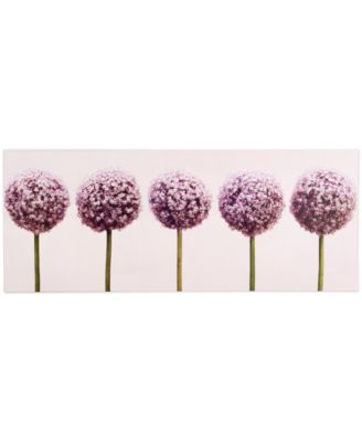 Graham & Brown Row of Alliums Wall Art