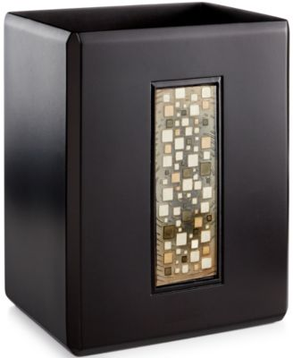 Croscill Bath, Mosaic Wastebasket