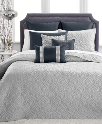 INC International Concepts Rizzoli Midnight Full/Queen Coverlet, Only at Macy's