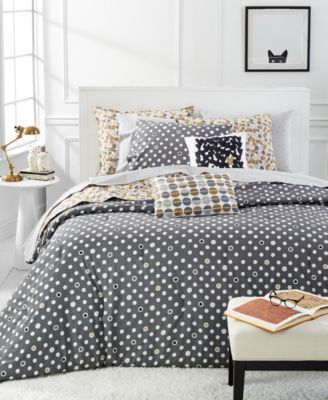 Martha Stewart Whim Collection Pop Dot 5-Pc. Full/Queen Comforter Set