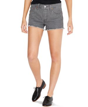Levi's 501 Cutoff Denim Shorts, Cliff View Wash