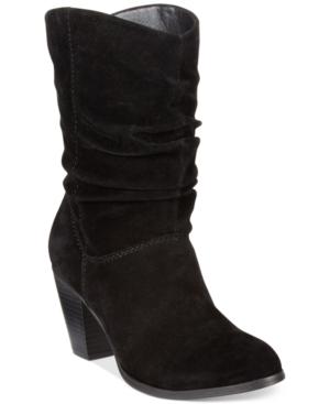 Rampage Trixen Slouchy Western Booties Women's Shoes
