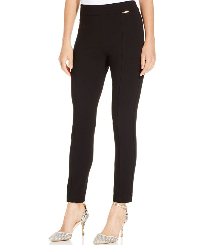 Anne Klein - Skinny Compression Pants