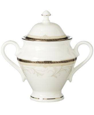 Waterford Brocade Covered Sugar Bowl