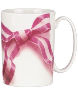 kate spade new york Snap Happy Take a Bow Mug