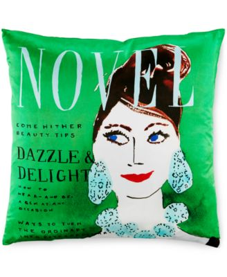 """kate spade new york Dazzle and Delight 20"""" Square Decorative Pillow"""