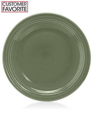 """Fiesta Sage 9"""" Luncheon Plate"""