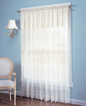 Romantic French style curtain sheers. Simply filtering light or ...
