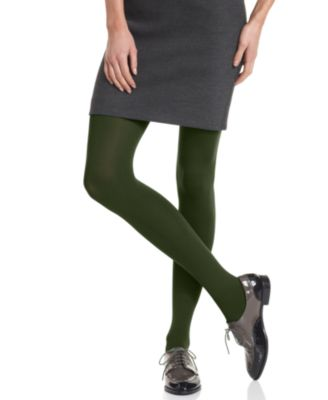 Image of HUE Super Control Top Opaque Tights