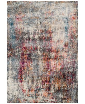 CLOSEOUT! Modern Abstracts Echo Multi 5'3