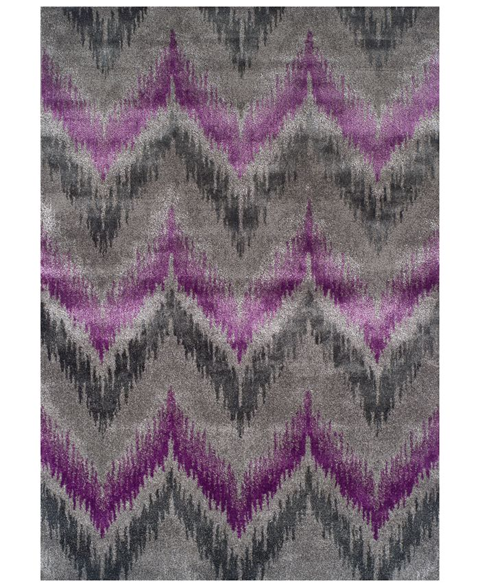 """Dalyn - Modern Abstracts Chevron Orchid 7'10"""" x 10'7"""" Area Rug"""