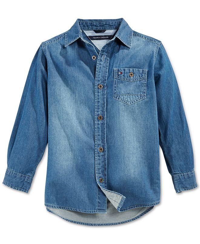 Tommy Hilfiger Max Denim Shirt, Toddler Boys