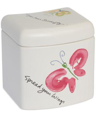 Creative Bath Flutterby Jar