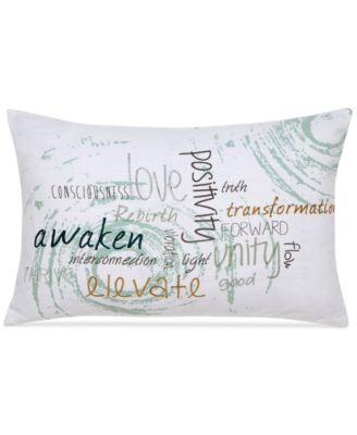 "Under the Canopy Metamorphosis 12"" x 18"" Awaken Decorative Pillow"
