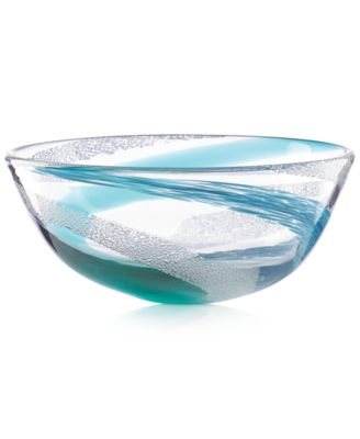 Lenox Seaview Bubble Swirl Bowl