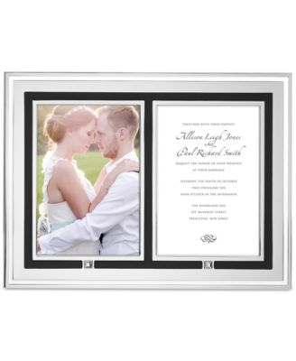 Lenox Piano Double Invitation Frame