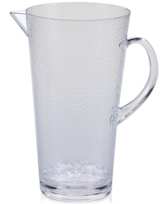 Certified International Acrylic Clear Pitcher