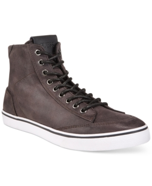 Guess Men's Malden 2 Cognac High-Top Sneakers Men's Shoes