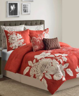 CLOSEOUT! Stella 8-Piece Queen Comforter Set