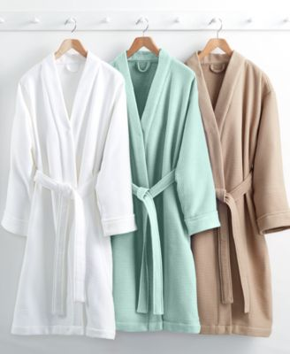 Hotel Collection Waffle Bath Robe