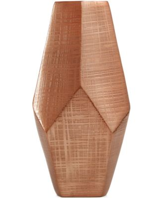 """Simply Designz Geo Collection 9"""" Vase, A Macy's Exclusive"""