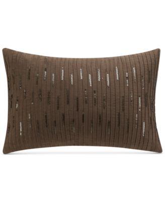"Savannah Home Cadogan 13"" x 18"" Sequins Decorative Pillow"