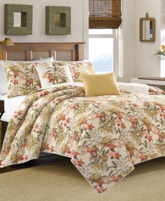 Tommy Bahama Home Daintree Tropic King Quilt