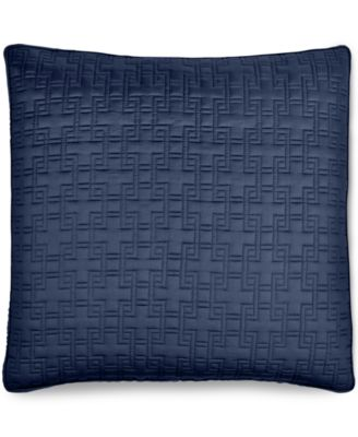 Hotel Collection Embroidered Frame Quilted European Sham, Only at Macy's