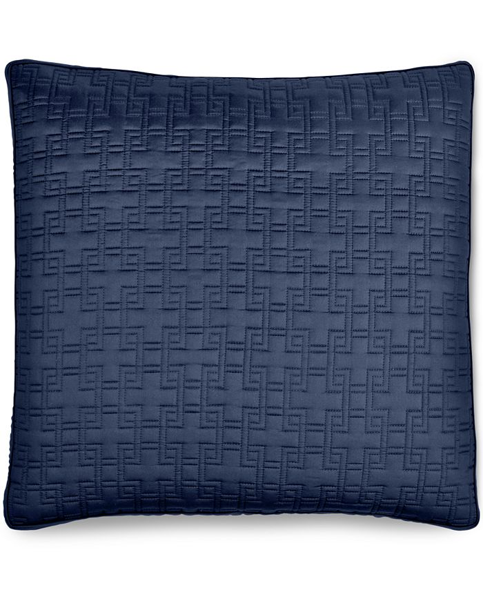 Hotel Collection - Embroidered Frame Quilted European Sham