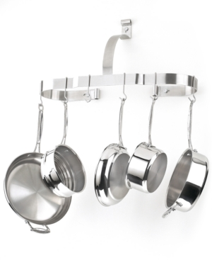 Cuisinart Chef's Classic Stainless Pot Rack, Oval Wall