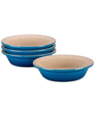 Le Creuset 4-Pc. Petite Stoneware Pie Dish Set