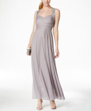 Alex Evenings Embellished Glitter-Detail Gown $155.61 AT vintagedancer.com