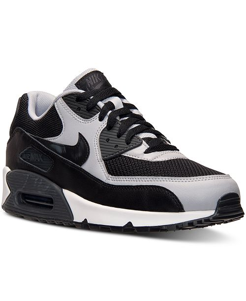 boca contenido ángulo  Nike Men's Air Max 90 Essential Running Sneakers from Finish Line & Reviews  - Finish Line Athletic Shoes - Men - Macy's